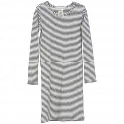 Kleid / Streifen Nachthemd