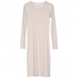 Slim Streifen Kleid