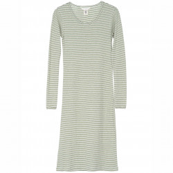 Streifen Kleid