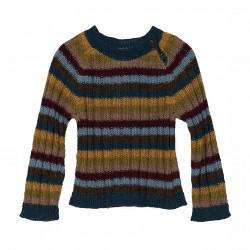 Baby Alpaka Regenbogen Pullover
